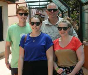 Callum, Rosie, Laura & Peter - CM4K team 2013